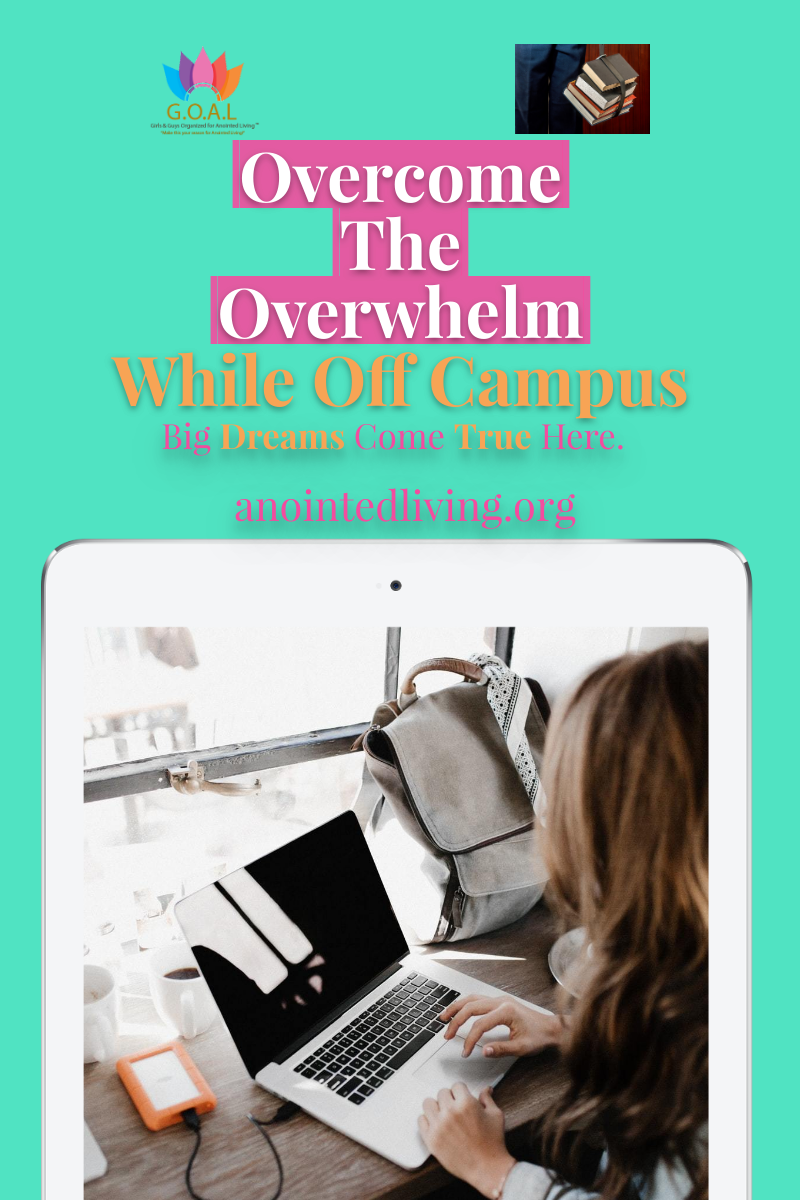 How can you overcome overwhelm while not being on campus? Here are simple ways you can overcome in this season while studying from home.